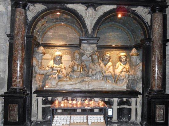 Cathédrale Saints-Michel-et-Gudule de Bruxelles : escultura