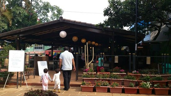 Saj Resort: Breakfast area