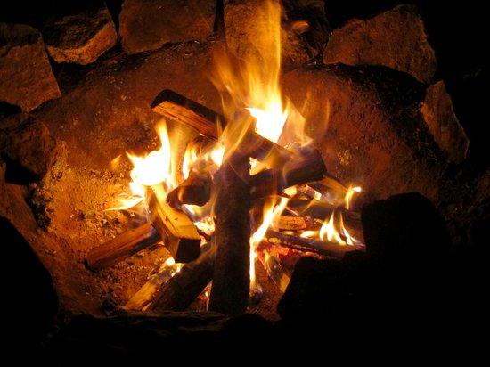 Les Tipis du Bonheur de Vivre : Notre feux