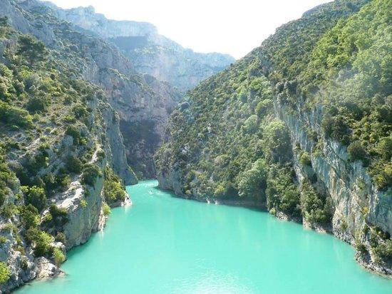 Vue le pont du galetas picture of lac de sainte croix - Office du tourisme lac de sainte croix ...
