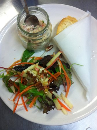 Anocht: Potted Prawn and Crabmeat