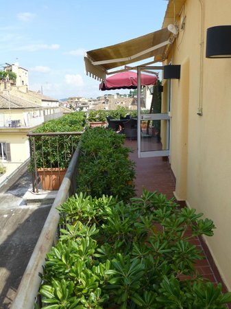Hotel Homs: Roof terrace of the Cupolone Suite