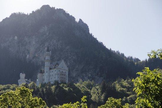 Hotel Garni Schlossblick: Vista desde el exterior de la habitación