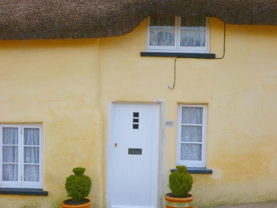 Petrockstowe, UK: Thatch cottage