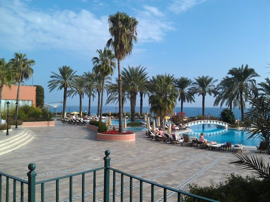 Fantasia Hotel De Luxe: Вид на море