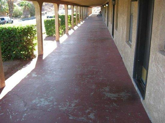 Havasu Springs Resort : Lakeview Front Porch