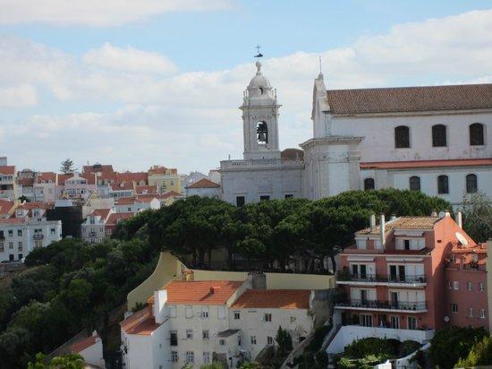 Miradouro da Graça : Vue depuis le chateau