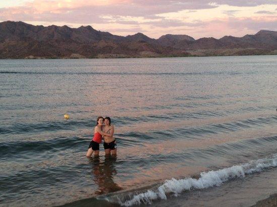 Havasu Springs Resort : Swim Beach
