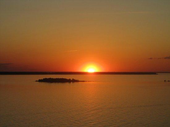 Peninsula State Park : sunset from Svens Bluff
