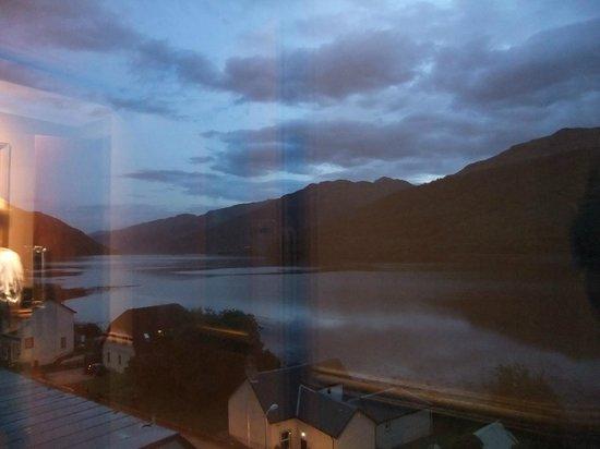Loch Long Hotel : 4th floor viewing area.