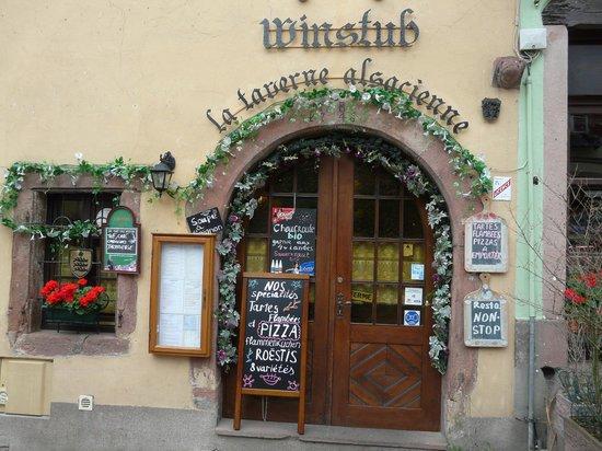 Restaurant La Taverne Alsacienne: La Taverne Alsacienne de Riquewihr