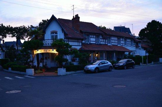 Hotel Ty Gwenn : Nachtimpression