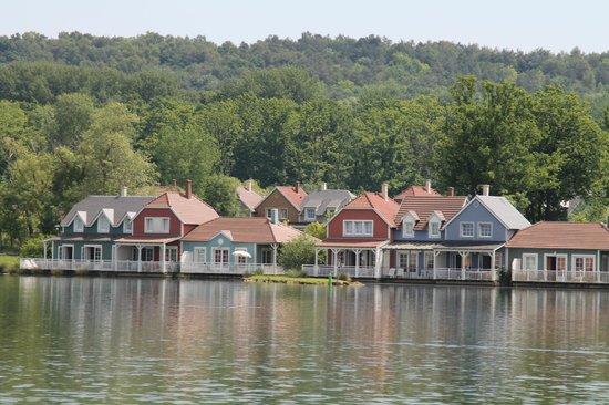 Hotel Du Golf De L'Ailette : vue de la terrasse du retaurant