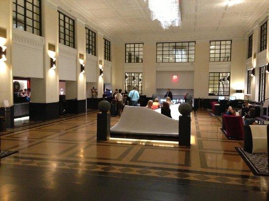 Stewart Hotel: Lobby Area