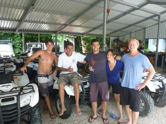 The iQuad crew