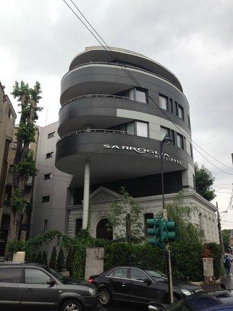 Sarroglia Hotel: Architettura dell'albergo