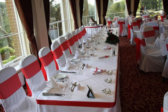 The Chine Hotel: Function Room for Our Wedding Reception