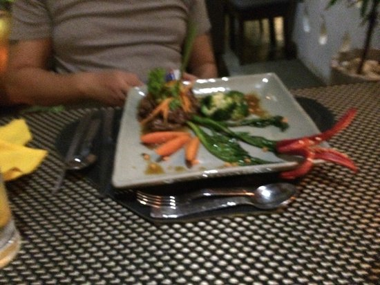 The Square 24: Beef dish cambodian