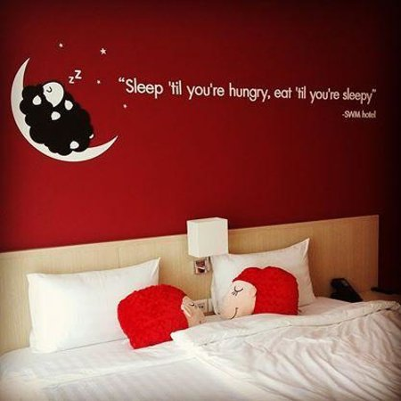 Sleep With Me Hotel: Our room