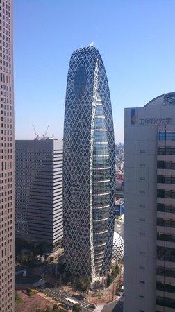 Keio Plaza Hotel Tokyo: parte della vista