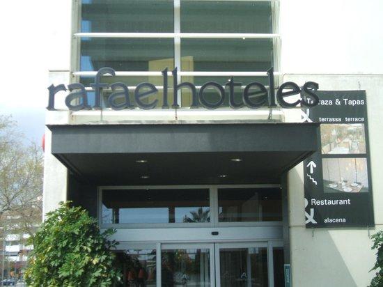 Rafaelhoteles Badalona: Nome Hotel
