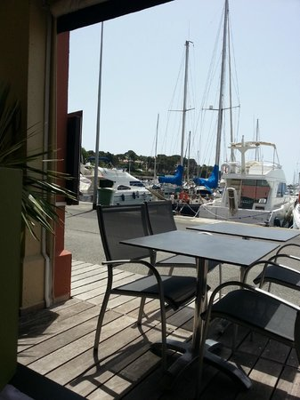 Best Western Plus Hotel La Marina: terrasse du restaurant