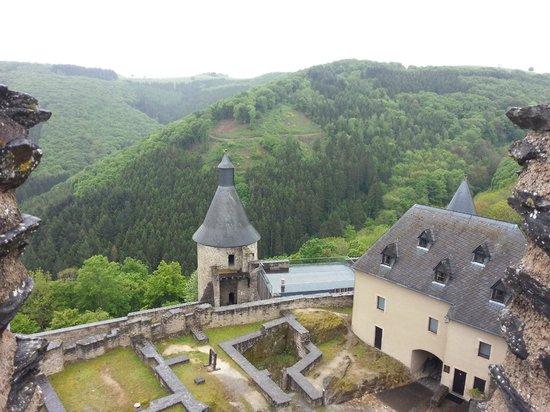 Bourscheid Castle: Крепость Буршейд