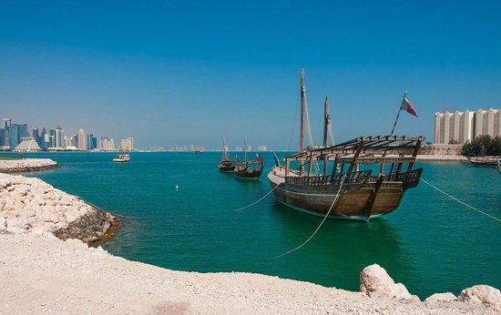 Hilton Doha: Dhows