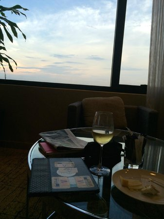 DoubleTree by Hilton Kuala Lumpur: nice to look out while sipping a glass of wine