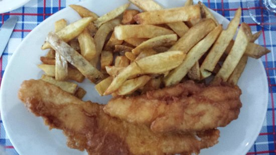 Heritage Fish & Chips: Fish and chips