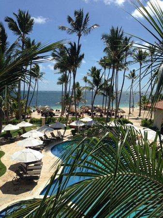 Dreams Palm Beach Punta Cana: Our deck view