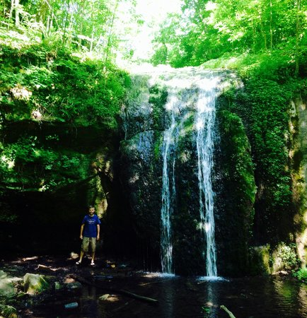 Waterfall at Stephens Falls! - Picture of Governor Dodge State Park