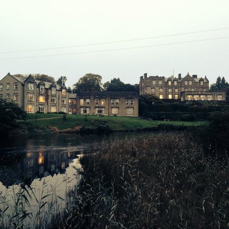Ballynahinch Castle Hotel: Castle from River View
