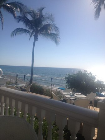 Pelican Grand Beach Resort, A Noble House Resort: The view from the veranda.