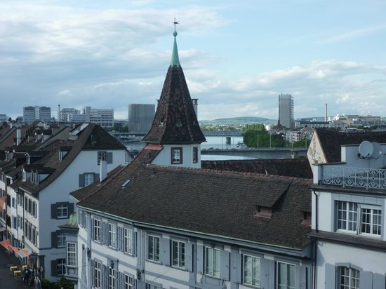 Hotel D - Basel : View from Balcony Junior Suite with Terrace - Top Floor
