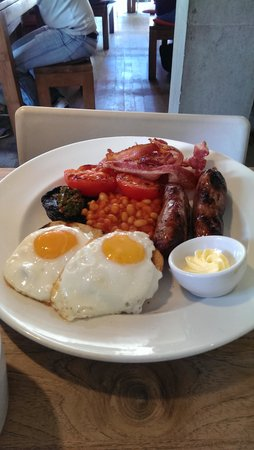 The Table Cafe: Full breakfast