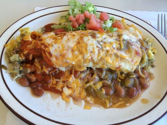 Kix on 66 : Smothered burrito
