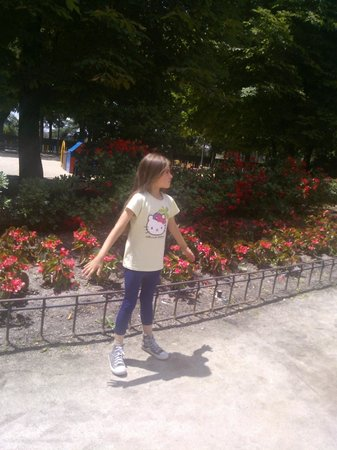 Teleferico: вход от paseo de pintor rosales