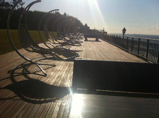305 Guest House : Sun deck