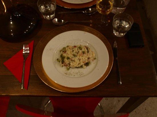 Convivio Rome Italian One Day Cooking Holidays : Risotto agli asparagi (Risotto with asparagus)