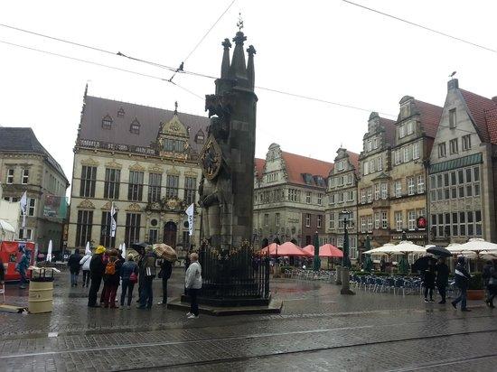 Marktplatz: Бремен, Маркплатц.