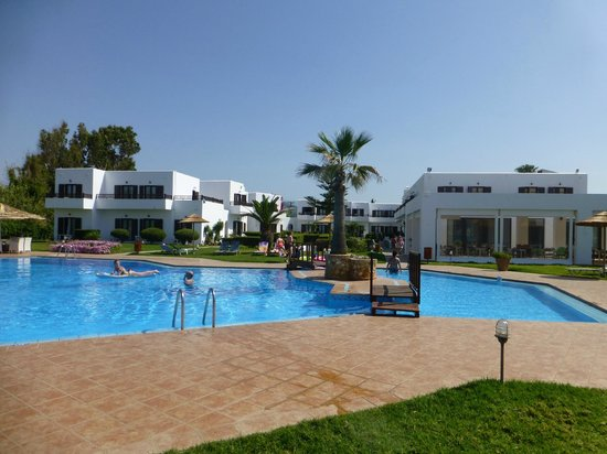 Geraniotis Beach Hotel: Basengområde