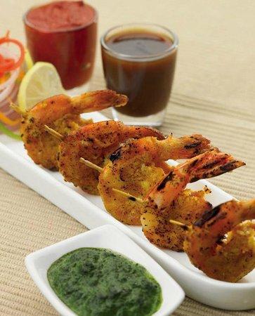 Everest Indian Restaurant : Tandoori King Prawn