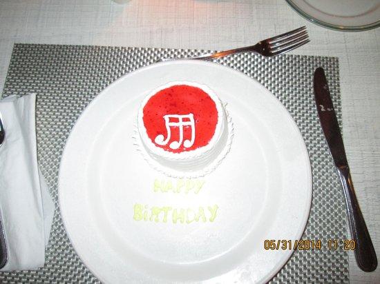 Grand Paradise Samana : My bd cake