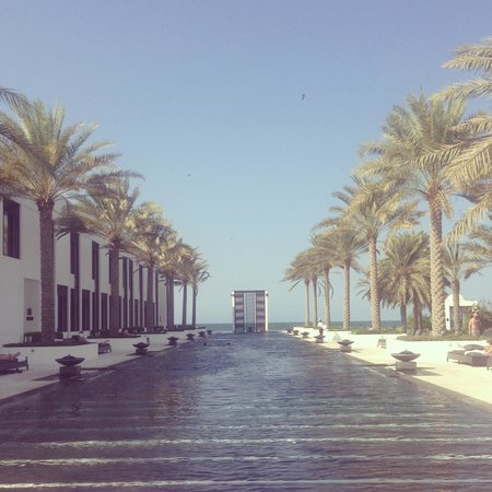 The Chedi Muscat – a GHM hotel: Amazing pools