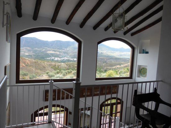 La Finca del Castillo Arabe: Panaoramic view from house