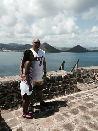 Snuba Saint Lucia: View after hike