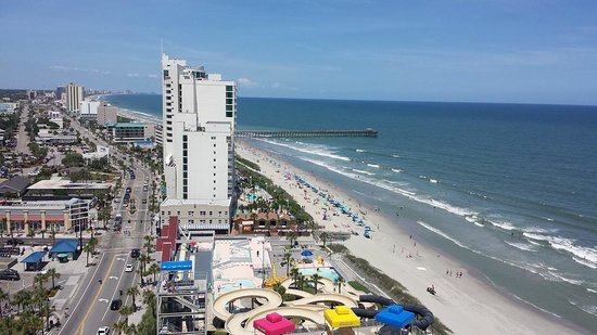 Westgate Myrtle Beach Oceanfront Resort: can't beat the view