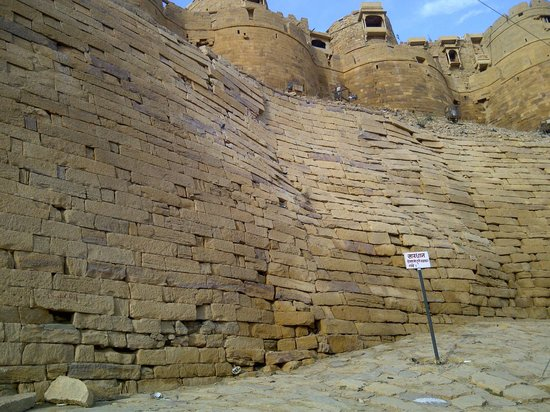 Hotel Fifu : remparts de jaisalmer