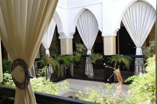 Riad Nesma: Vista del piso superior